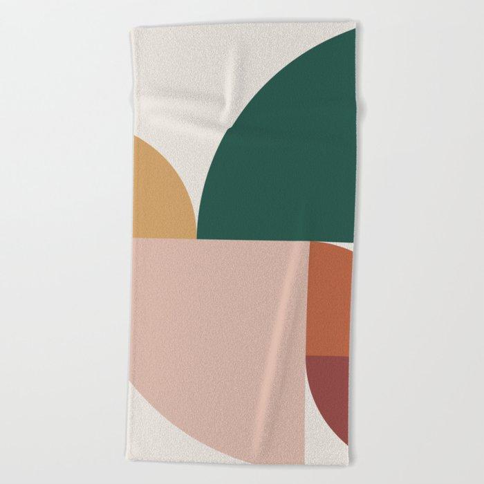 Abstract Geometric 11 Beach Towel
