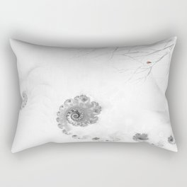 Winter calls Rectangular Pillow