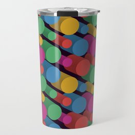 3D X Pipes II Travel Mug