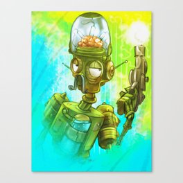 Robot army! Canvas Print