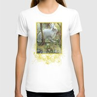 hare T-shirts featuring Hare by Natalie Berman