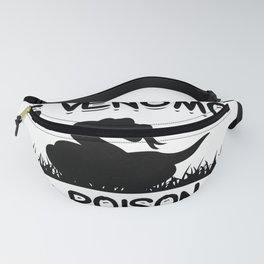 Poisonous snake   Pets reptiles gifts Fanny Pack