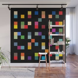 Square Grid Wall Mural