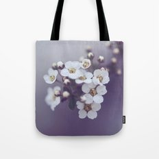 Flower in the mist Tote Bag