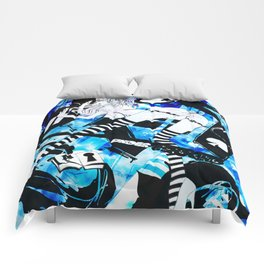BUNNYGIRL UNDER GROUND Comforters
