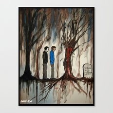 Heaven and Hell and Everything In Between Canvas Print