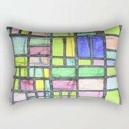 Homage to Mondrian Rectangular Pillow