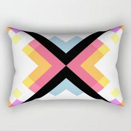 Abstract Retro Pattern 05 Rectangular Pillow