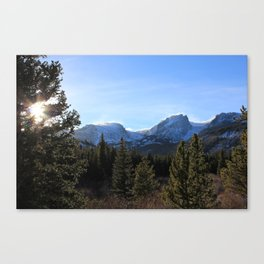 SNOW BREEZE & SUN Canvas Print
