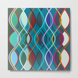 Abstract Composition 501 Metal Print