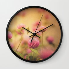 Love Blush Wall Clock