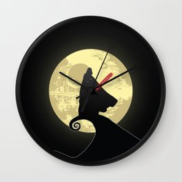 Vader's Nightmare Before Wall Clock