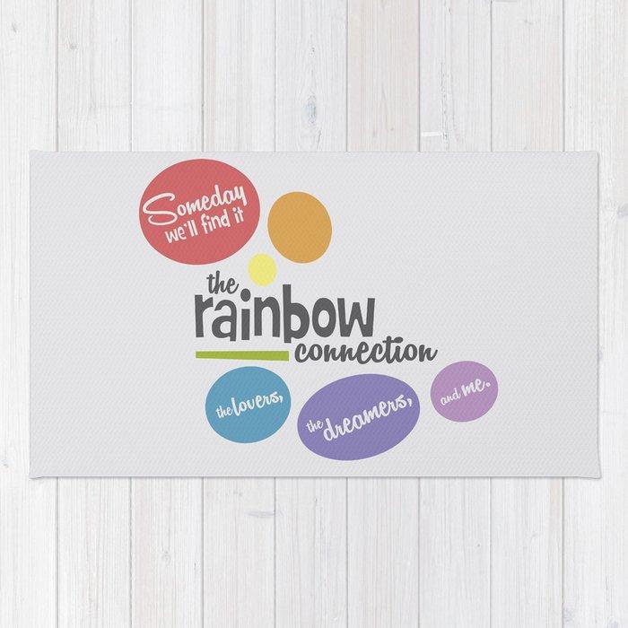 Rainbow Connection Rug