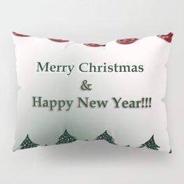Merry Christmas & Happy New Year Pillow Sham