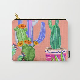 Cactus Wonderland Carry-All Pouch