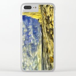 Birling Gap And Seven Sisters Van Gogh Clear iPhone Case