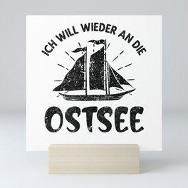 Ostsee Sehnsucht Mini Art Print