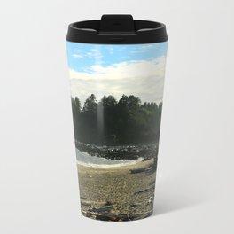 Driftwood on La Push Beach Metal Travel Mug