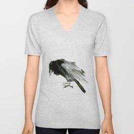 Raven Unisex V-Neck