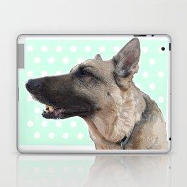 Lucy German shepherd Laptop & iPad Skin