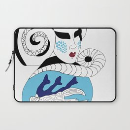 Cancer / 12 Signs of the Zodiac Laptop Sleeve