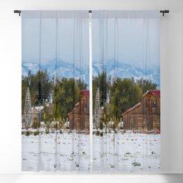 Front Range Snow Blackout Curtain