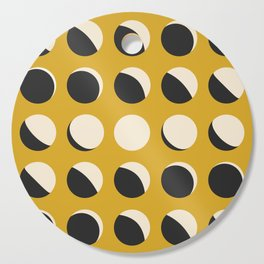 Moon Phased in Honey Cutting Board