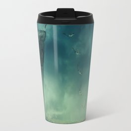 give your dreams their wings to fly Travel Mug