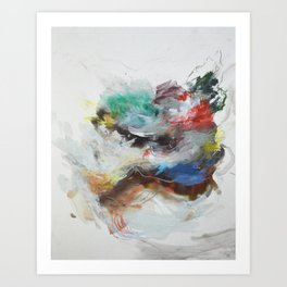 The Simple Wholeness of the World Art Print