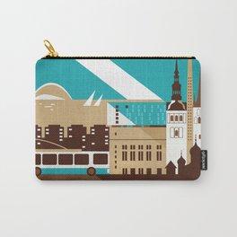 Tallinn Summer Retro Carry-All Pouch