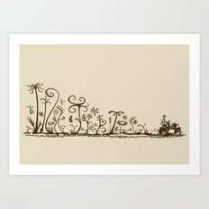 Agriculture under the influence Art Print