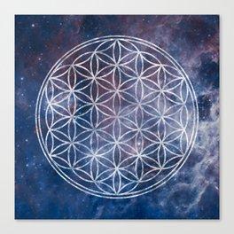 Sacred Geometry Universe 5 Canvas Print