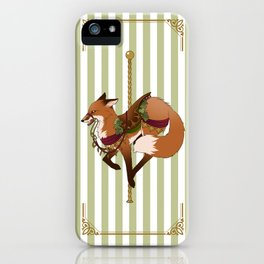 Carousel Hearts: Red Hartley iPhone Case