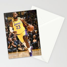 K.B King of  Basketball 04 Stationery Cards