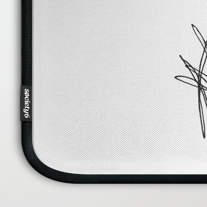 Dark Iris Laptop Sleeve