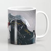 castlevania Mugs featuring Family Dispute by VGPrints