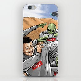 Neil Degrasse Tyson and Friends iPhone Skin