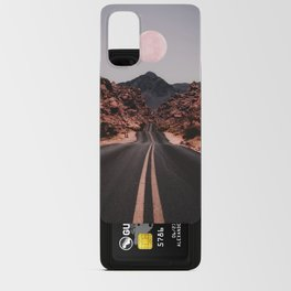 Road Red Moon Android Card Case