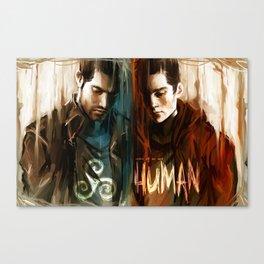 Derek & Stiles Canvas Print