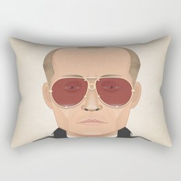 Black Mass - Alternative Movie Poster Rectangular Pillow