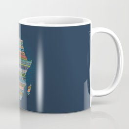 Africa map Coffee Mug