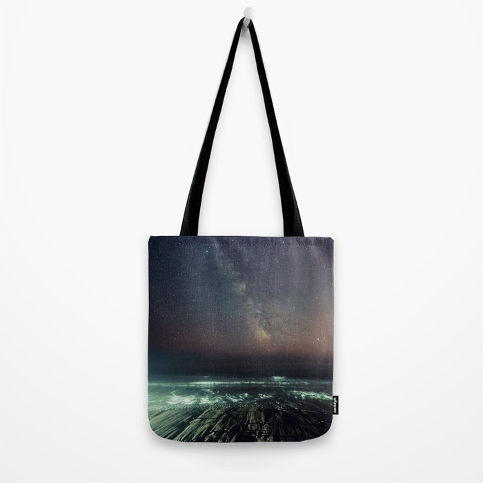 Galactic Beach Tote Bag