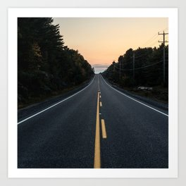 Journey Home Art Print