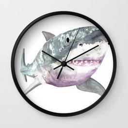 Great White Friend Wall Clock