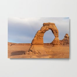 Delicate Arch 0422 -Arches National Park, Moab, Utah Metal Print