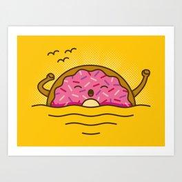 Good morning! - Cute Doodles Art Print