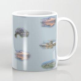 Highland Landmarks in blue Coffee Mug