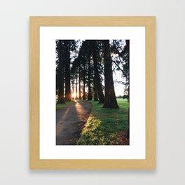 Autumn vibes Framed Art Print