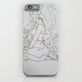 Fading angle iPhone Case