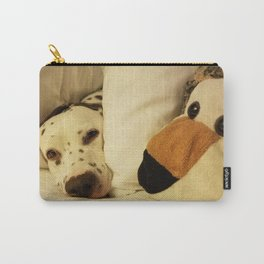Dalmatian Tiger Nap Carry-All Pouch
